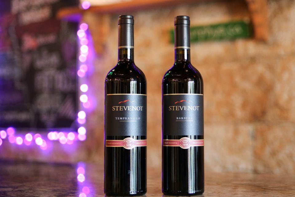 Tempranillo & Barbera Wine Bottles
